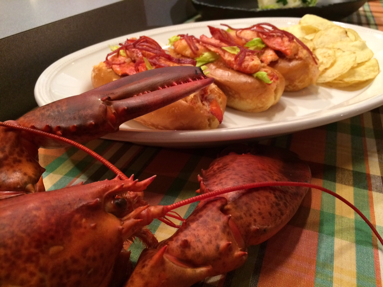 Mark Tarbell brought the lobster