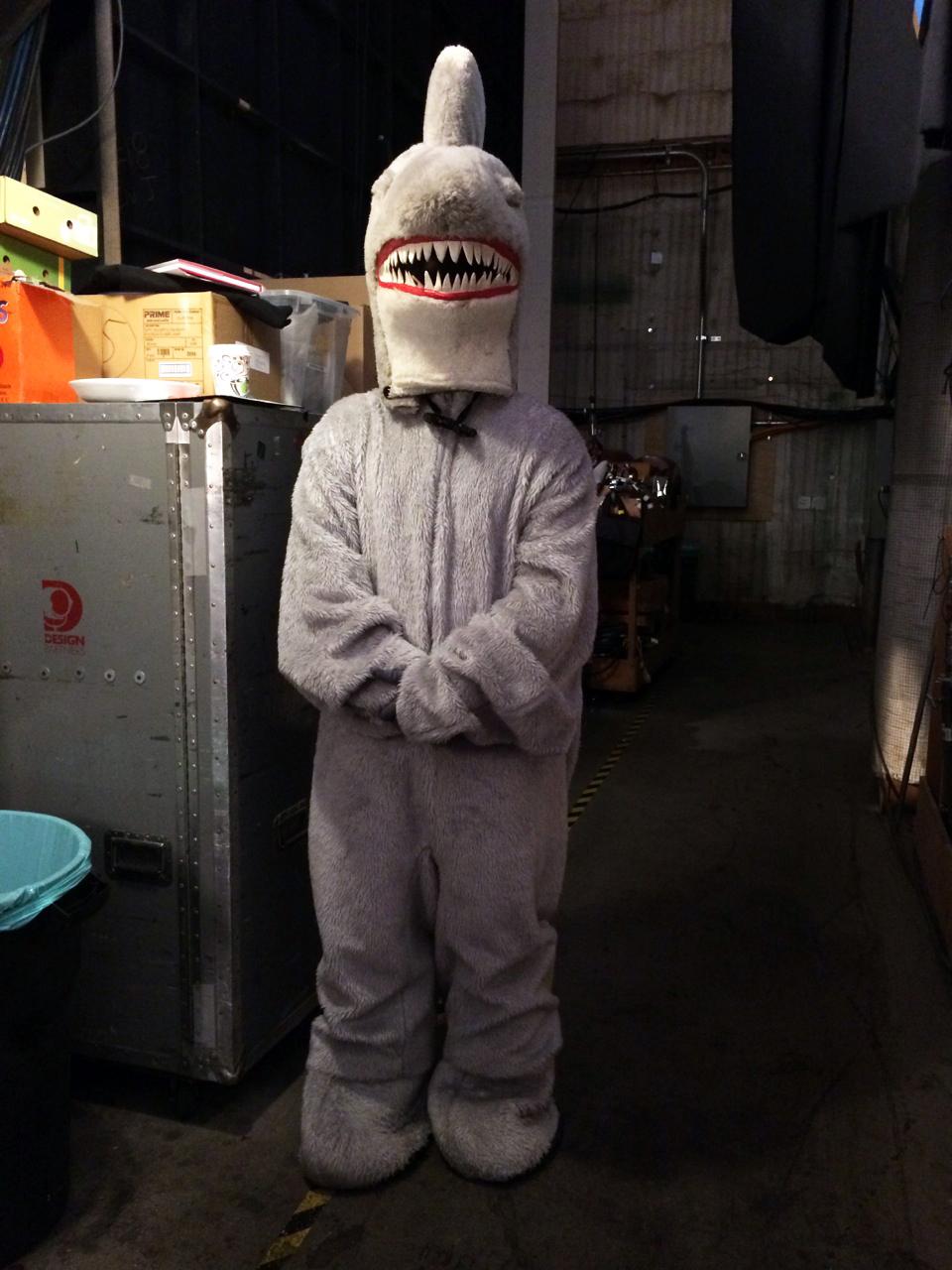 Shark Backstage