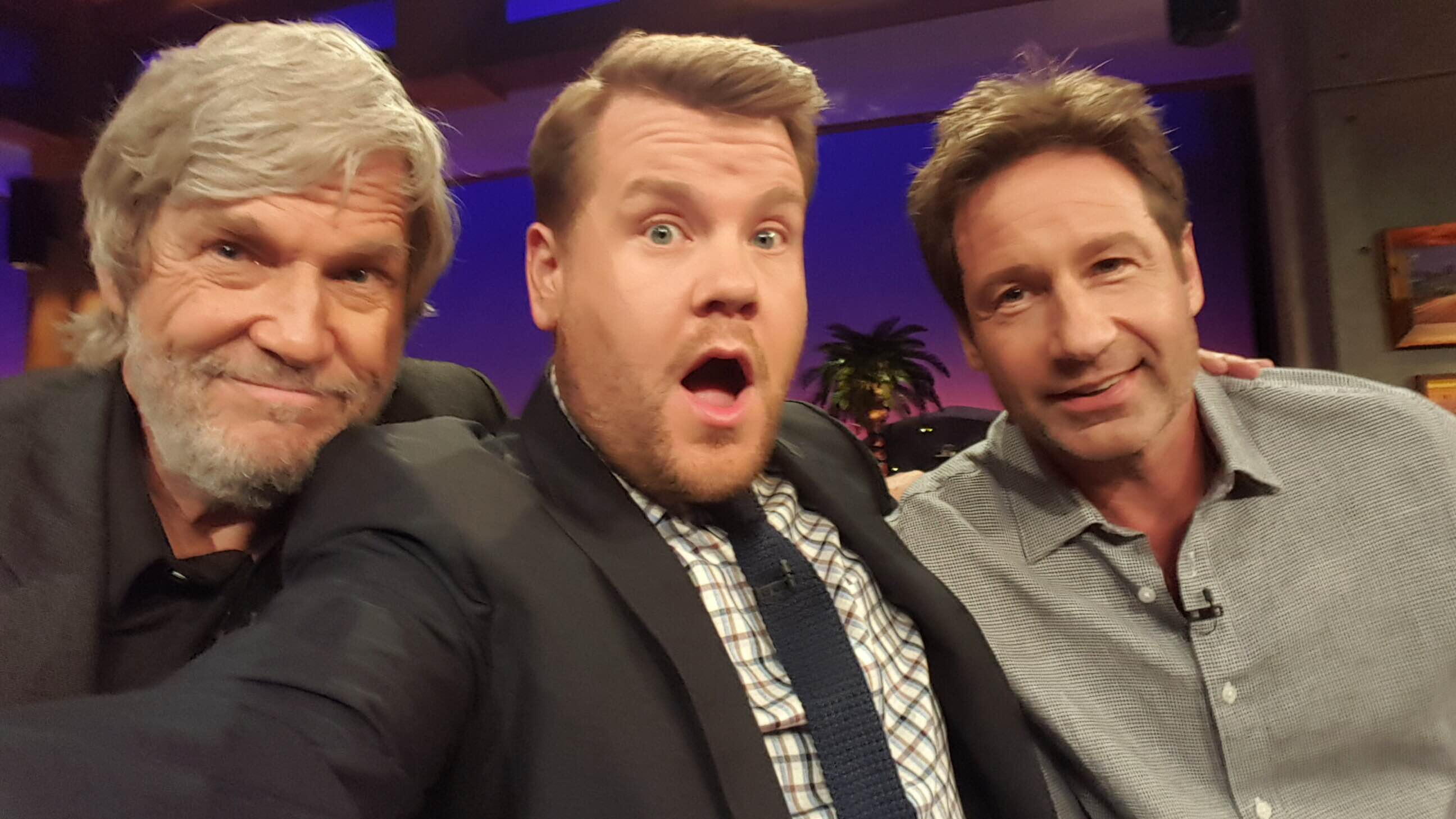 Jeff Bridges and David Duchovny