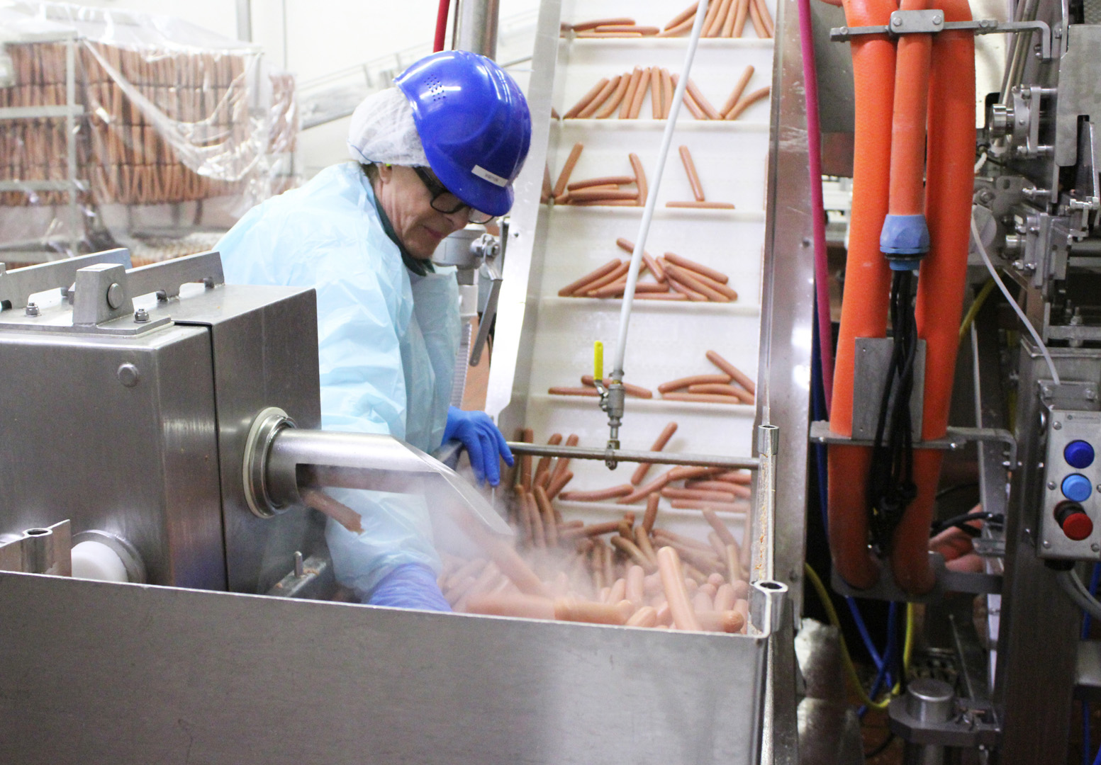 This CEO will learn the ins and outs of hot-dog peeling while undercover.