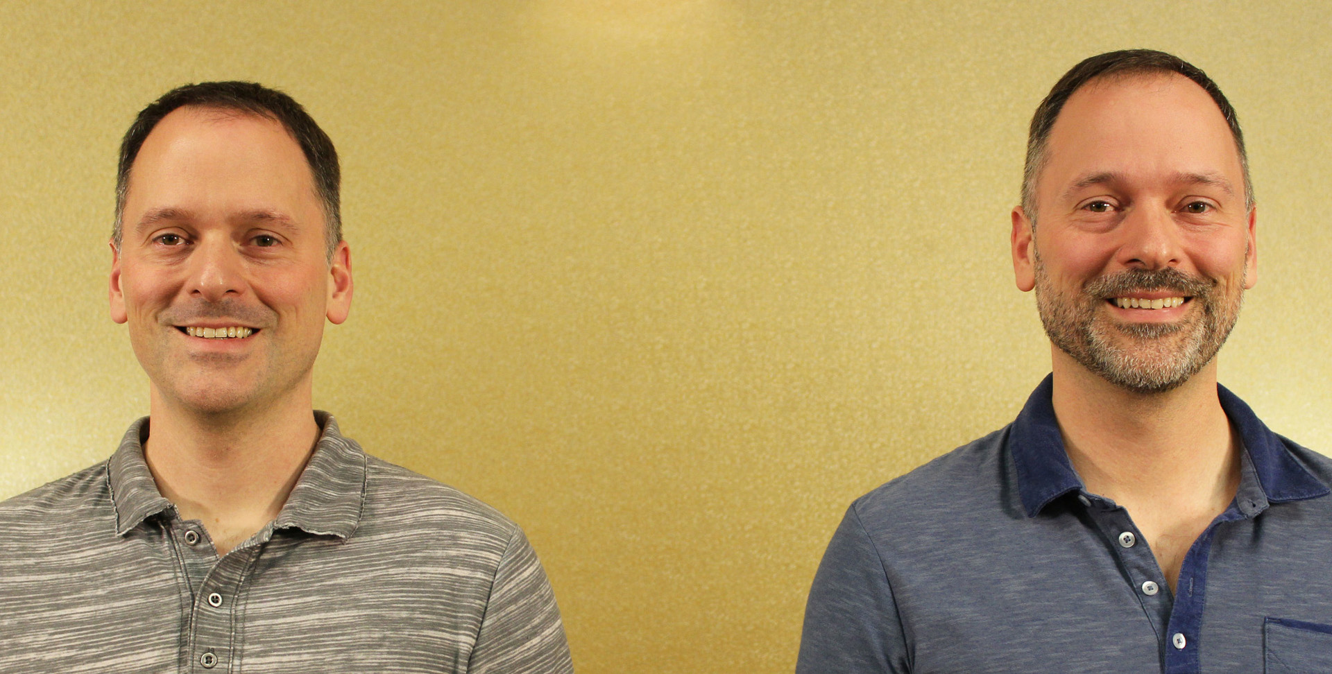 Twin brothers Ashley and Brandon Wright share their pre-makeover looks.