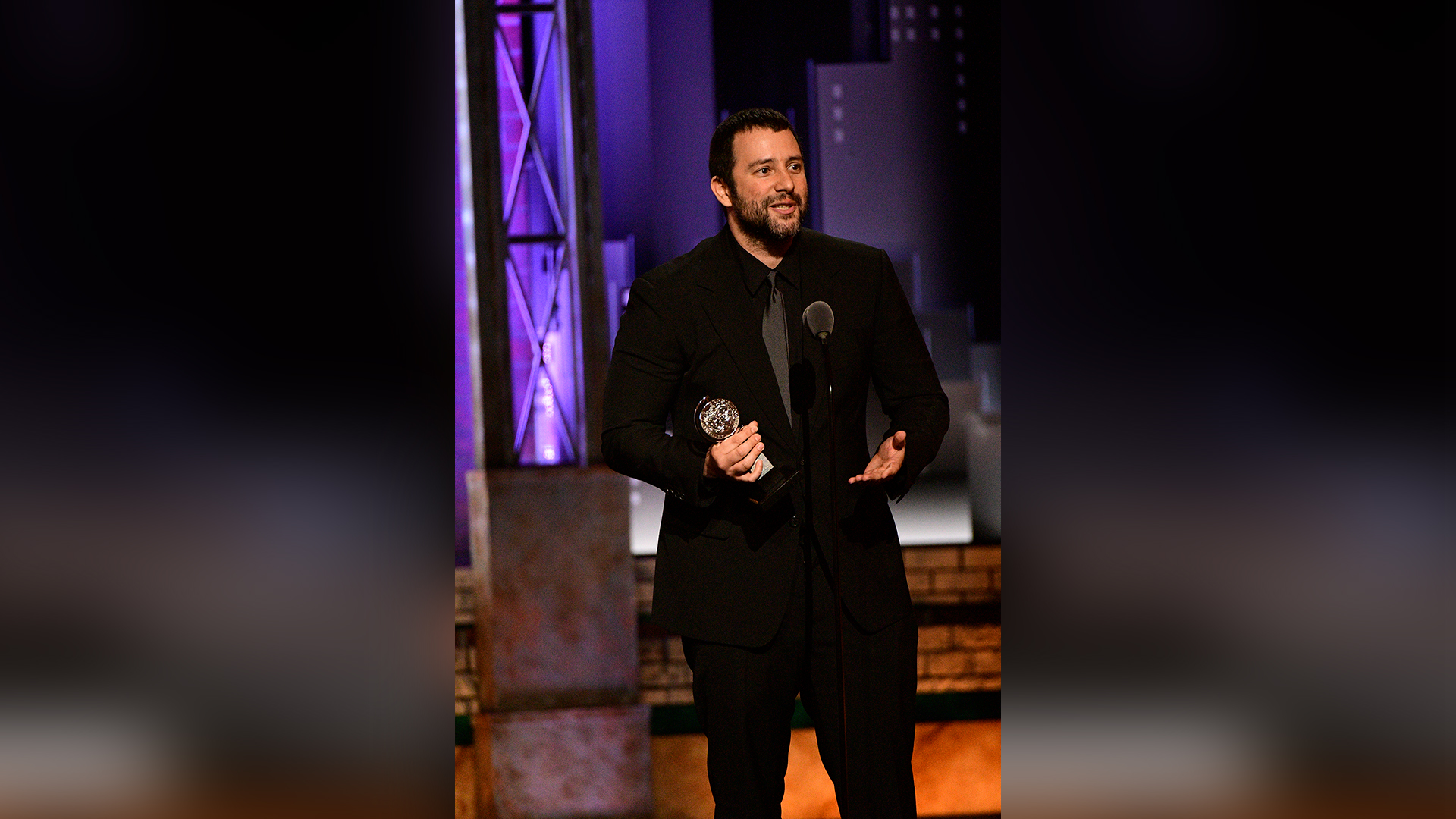 Itamar Moses wins Best Book of a Musical at the 2018 Tony Awards.