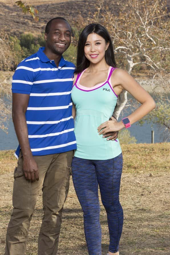Jelani and Jenny - Blind Date Couple