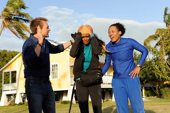 Kisha and Jen Win the Amazing Race!