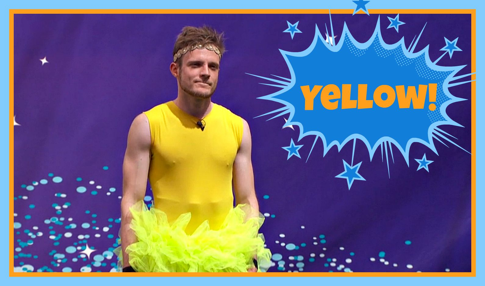 Question: What color was Johnny Mac's tutu in this week's