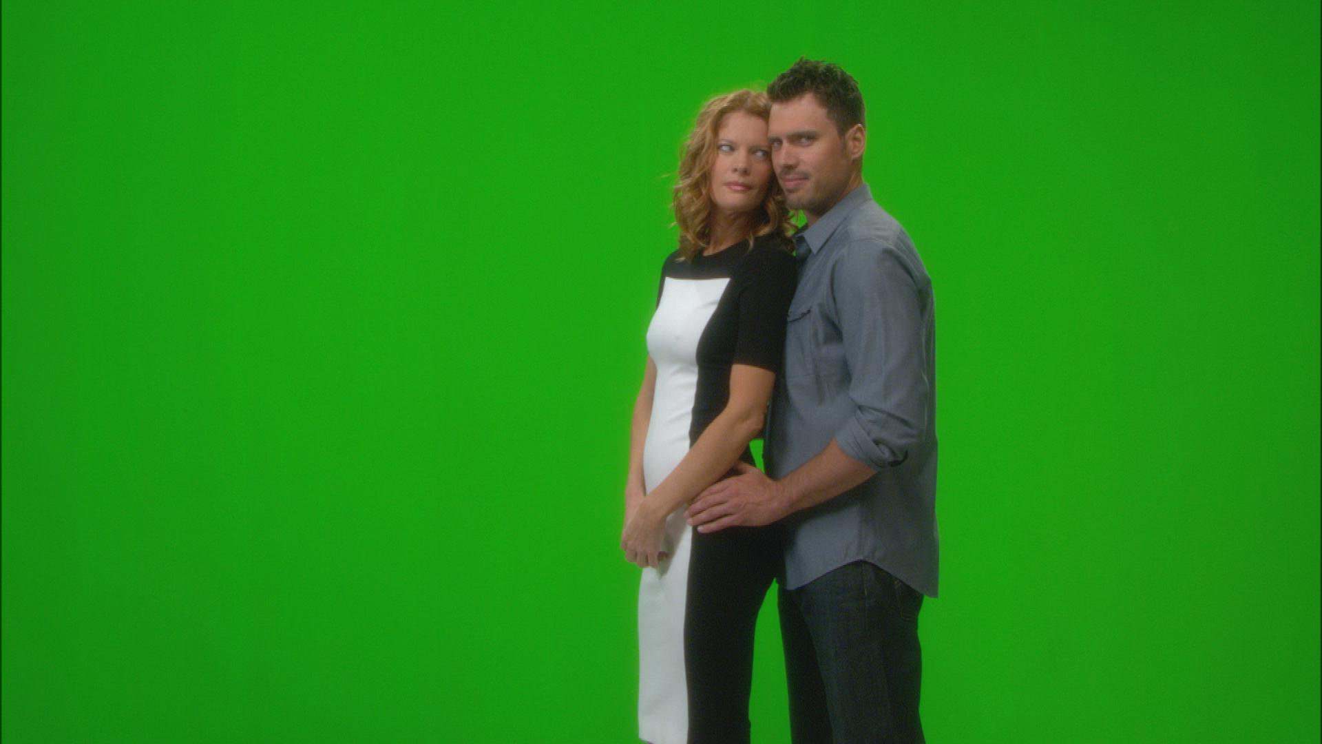 Joshua Morrow & Michelle Stafford