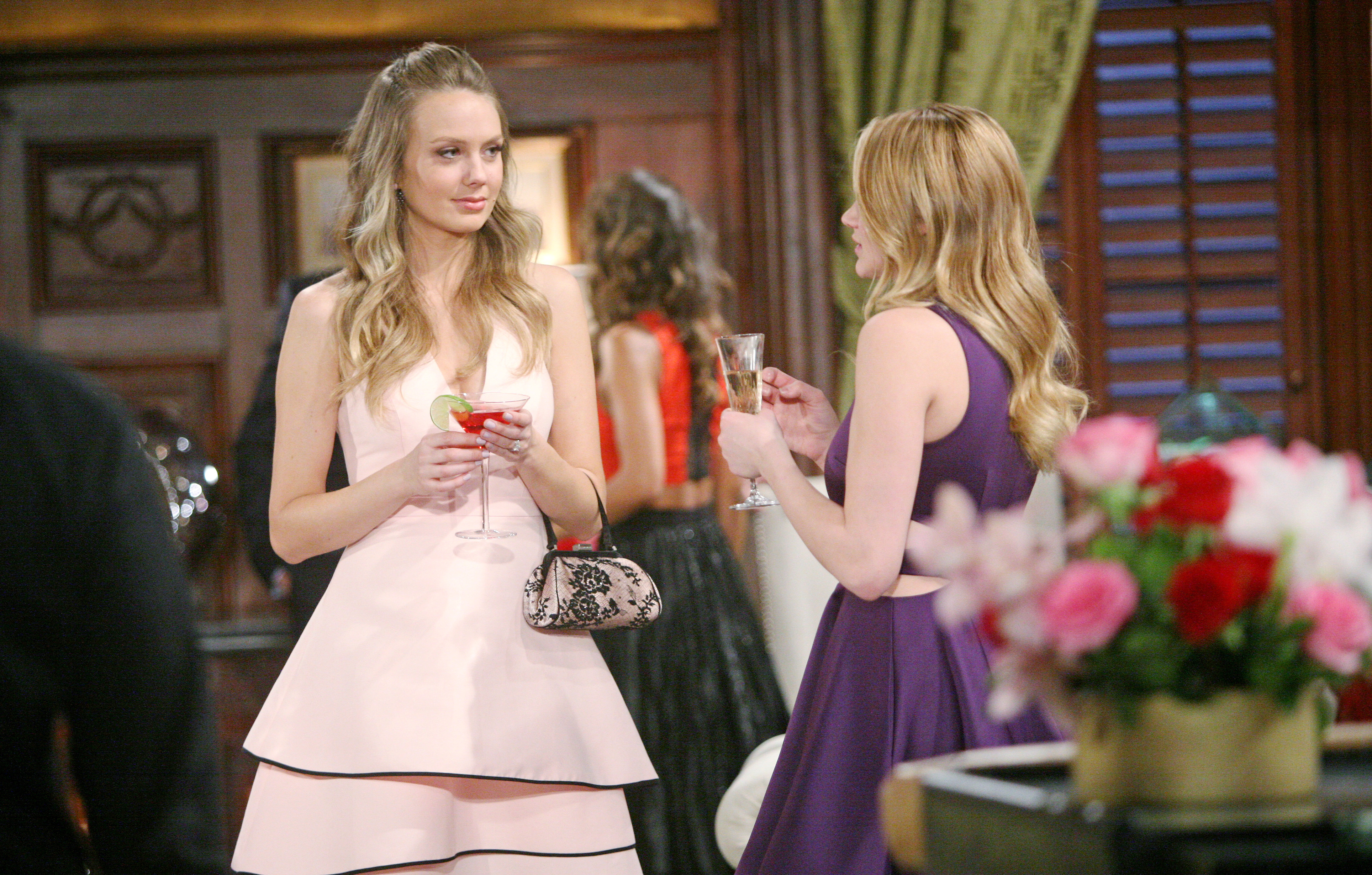 Abby proves that not all cocktail dresses are created equal.