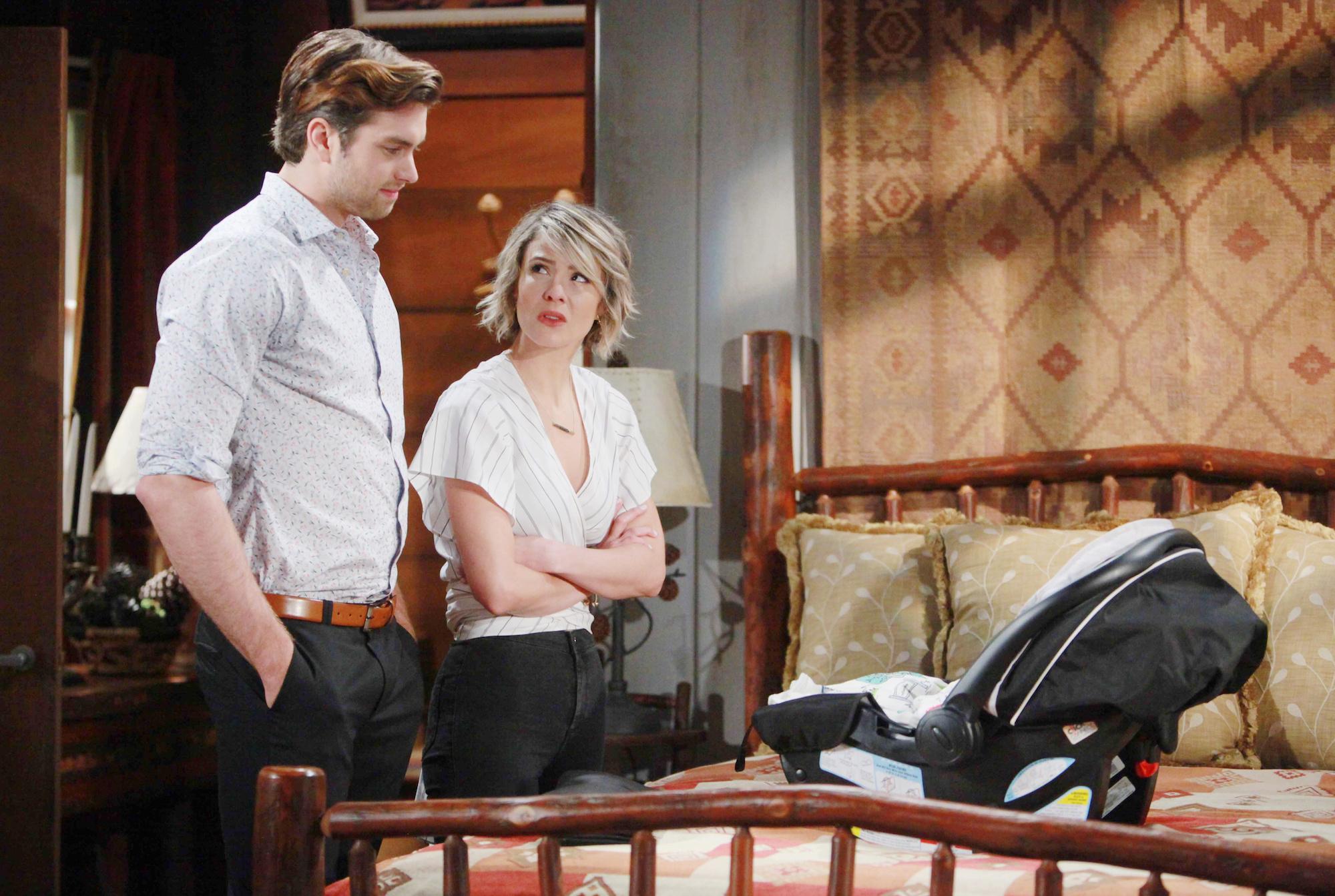 Caroline pleads for Thomas to reconsider.