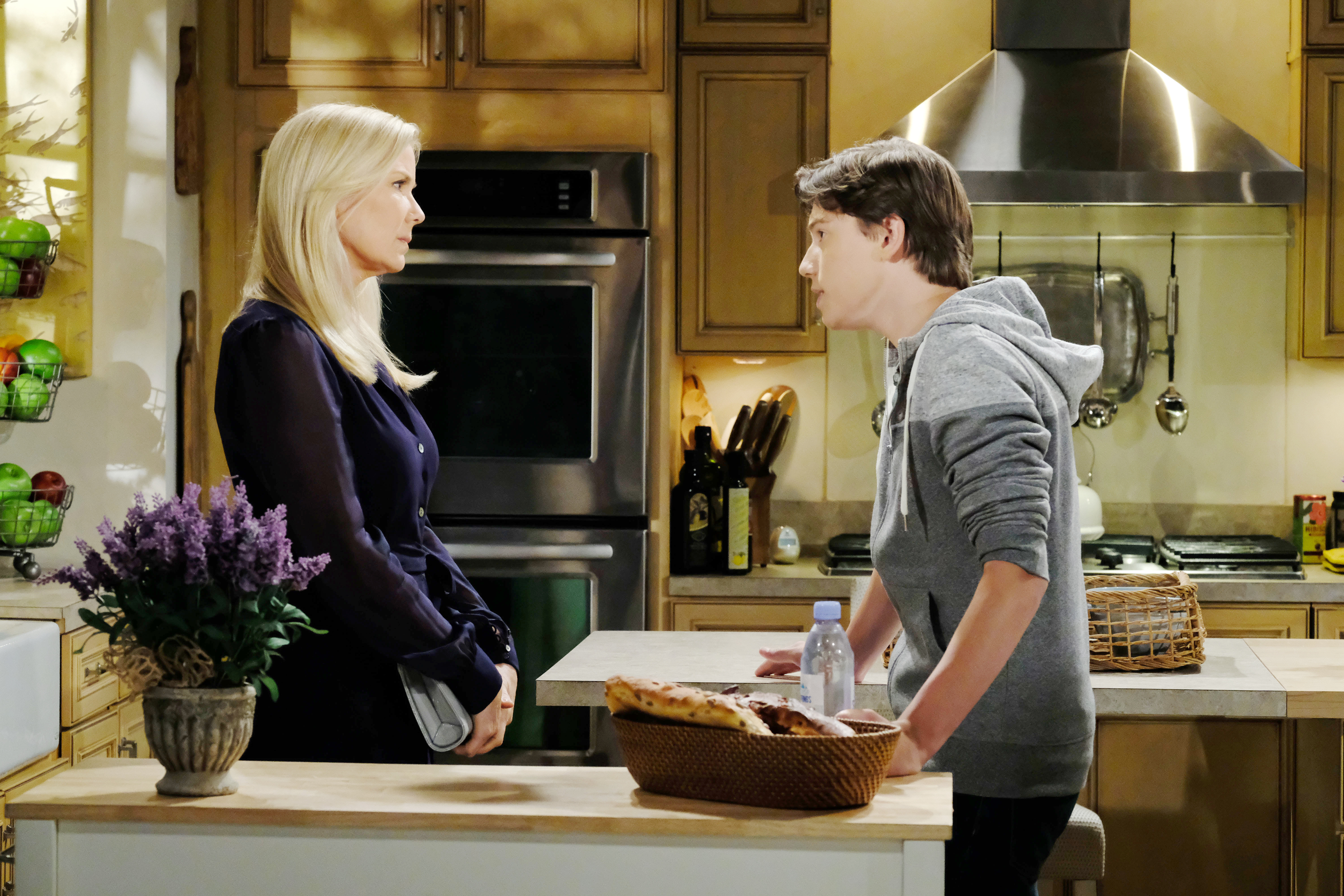 RJ makes one last-ditch effort to talk Brooke out of marrying Bill.
