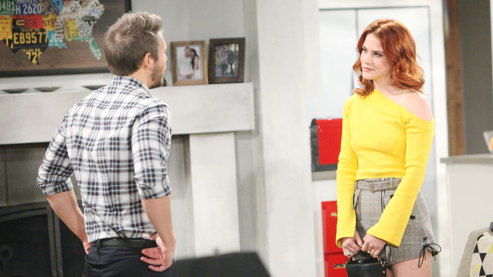 Sally asks Liam a bold question about his marriage.