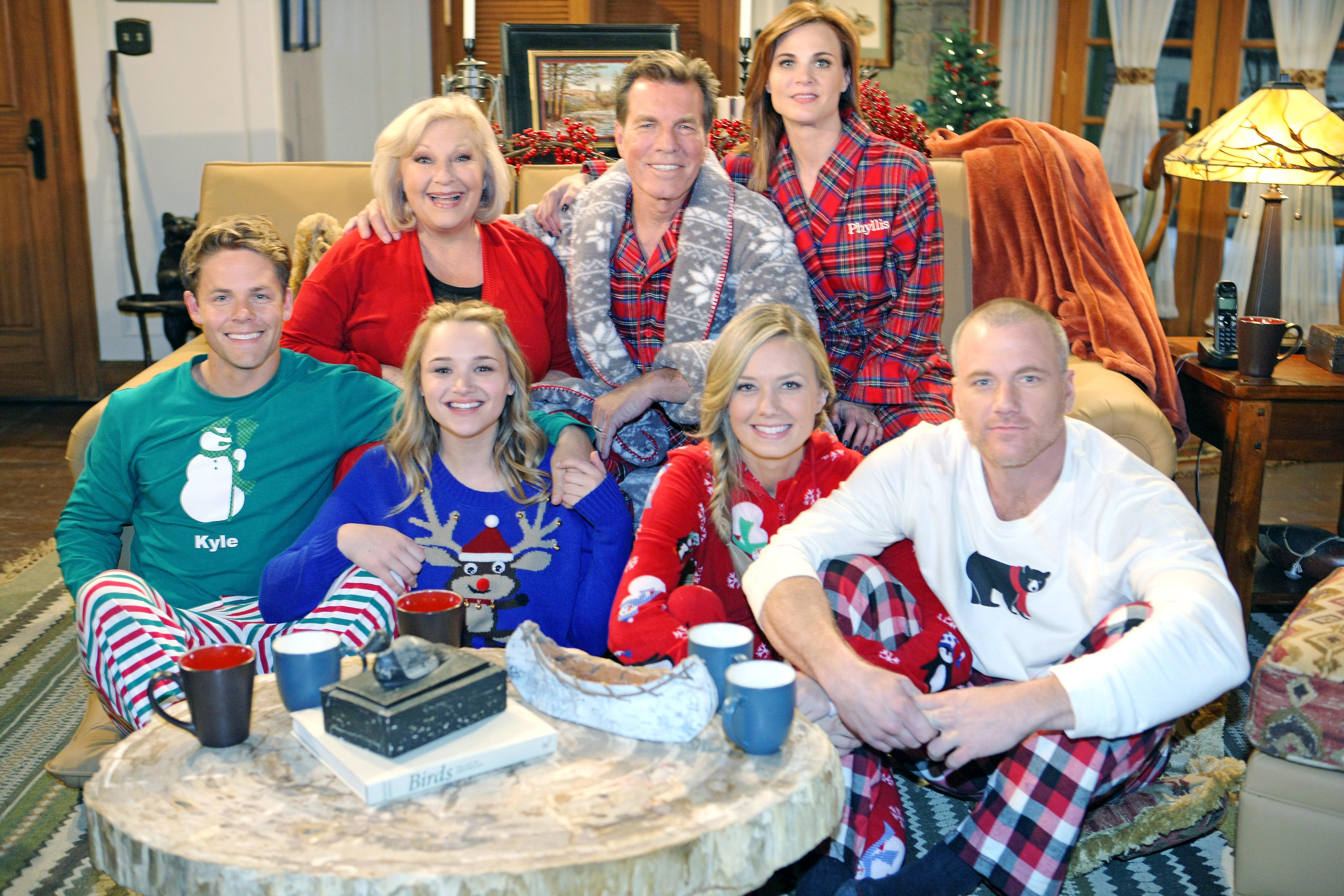 Pajamas party!