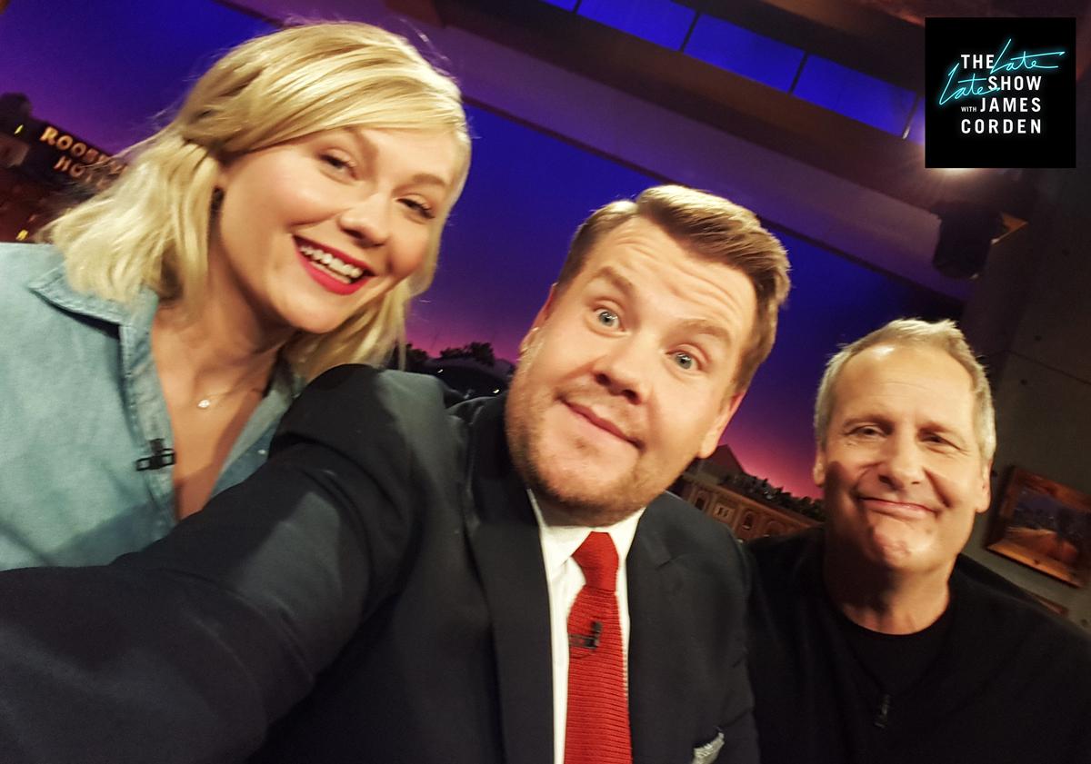 Kirsten Dunst And Jeff Daniels