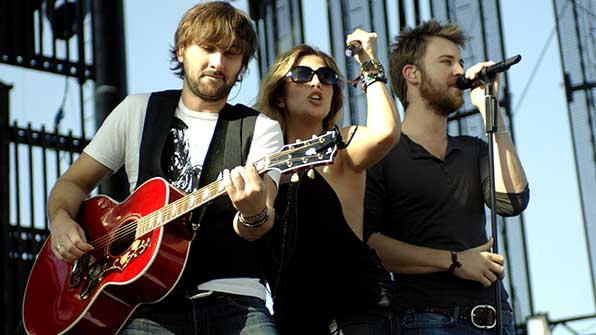Charles Kelley and Dave Haywood (Lady Antebellum)