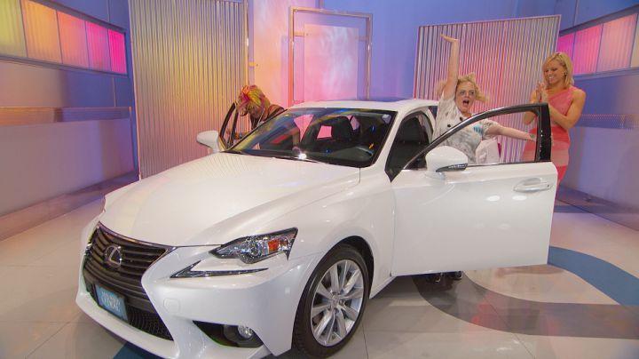 The most luxurious Lexus win