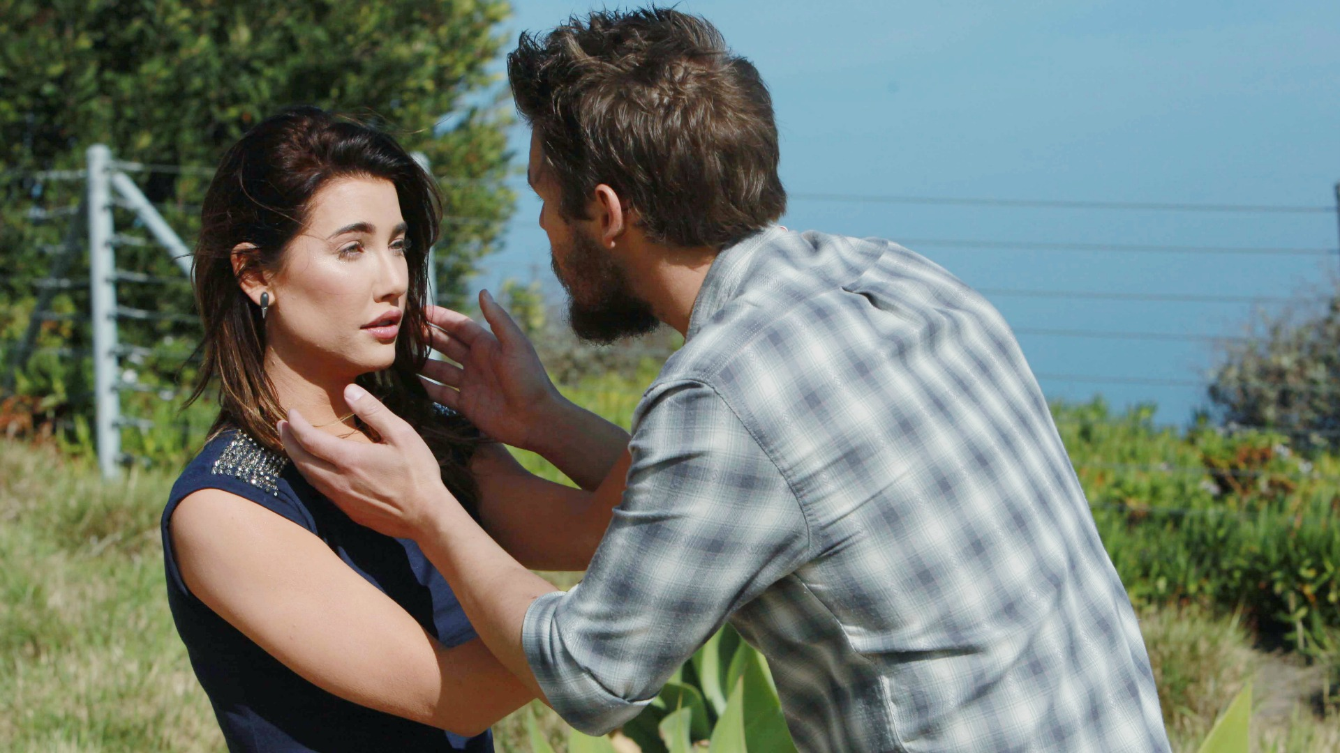 Liam tells Steffy she's the reason he survived.
