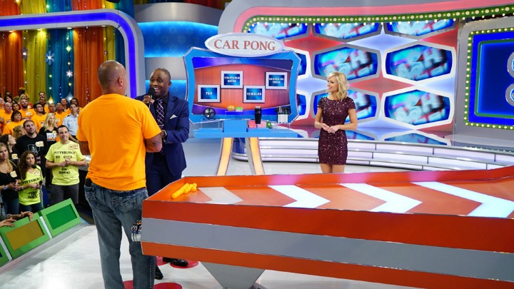 Wayne and Tiffany explain how to play Car Pong.
