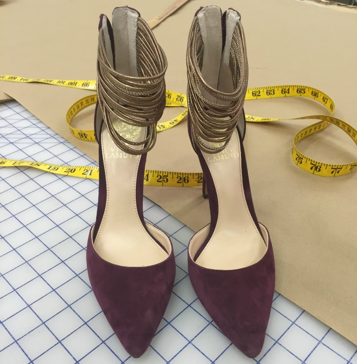 Who wore these purple pumps?