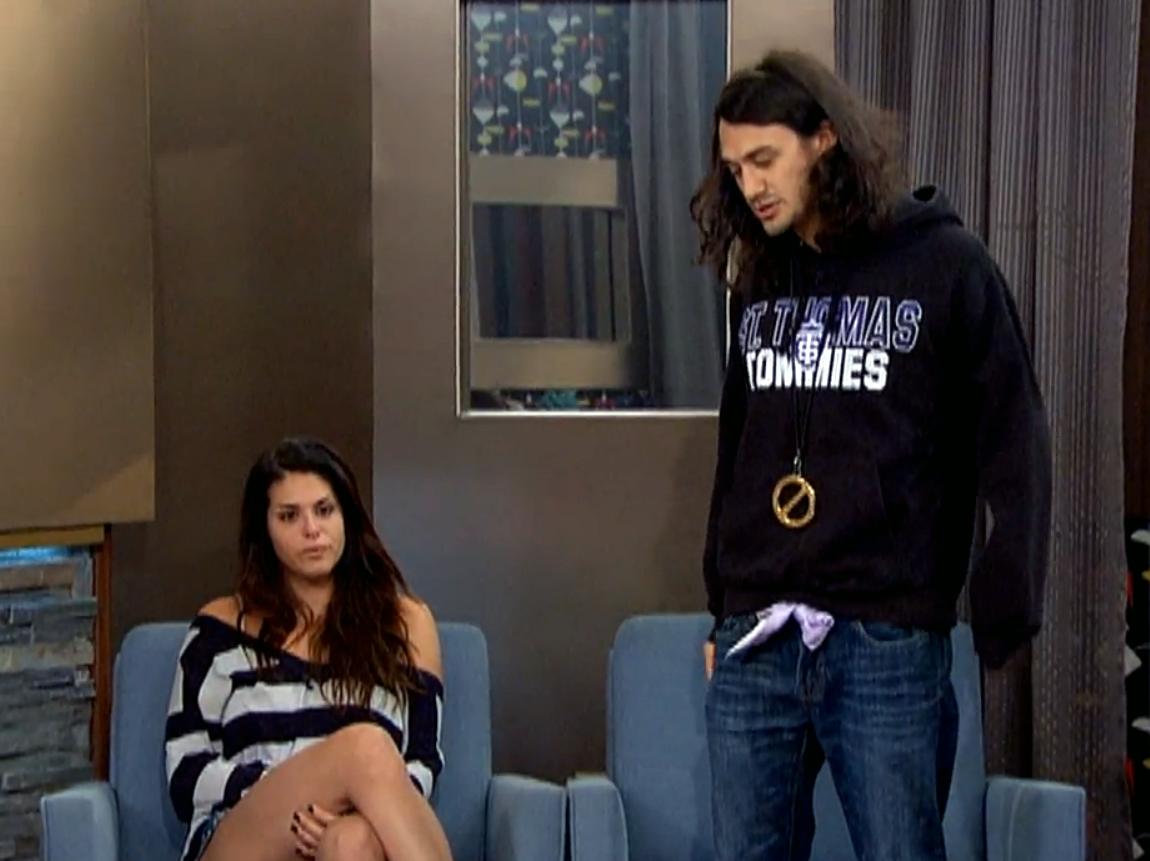 McCrae and Amanda (Big Brother 15)