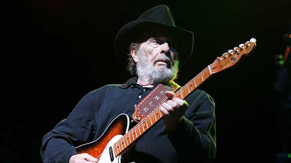 Merle Haggard holds the record for most Male Vocalist of the Year wins at a grand total of six.