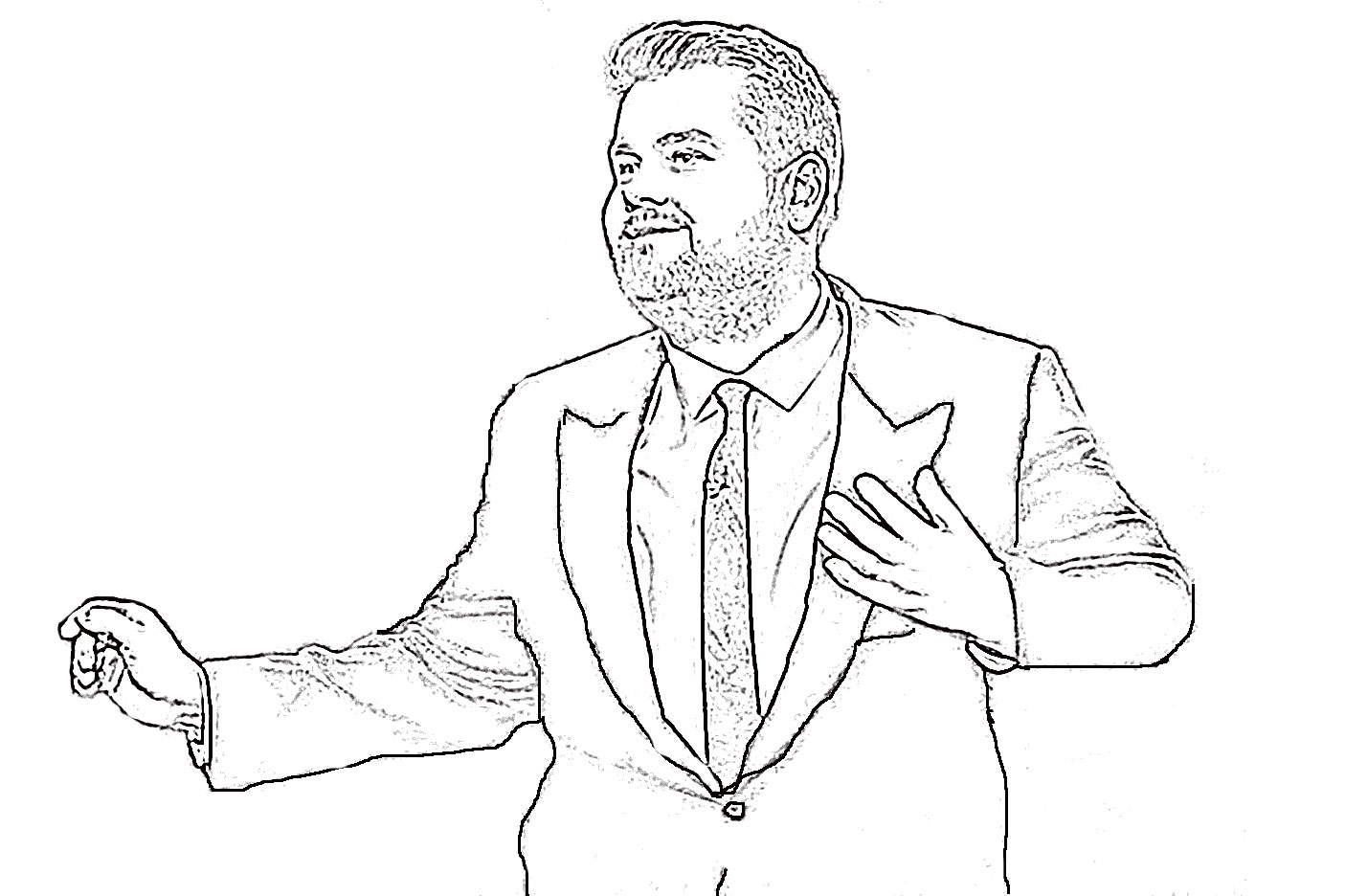 James Corden brings it every night in his monologue.