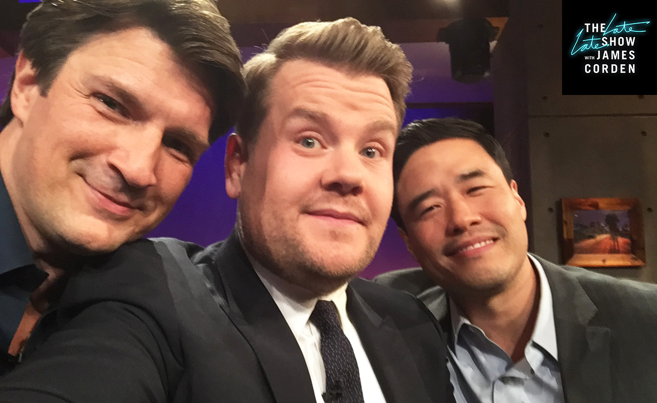 Nathan Fillion and Randall Park