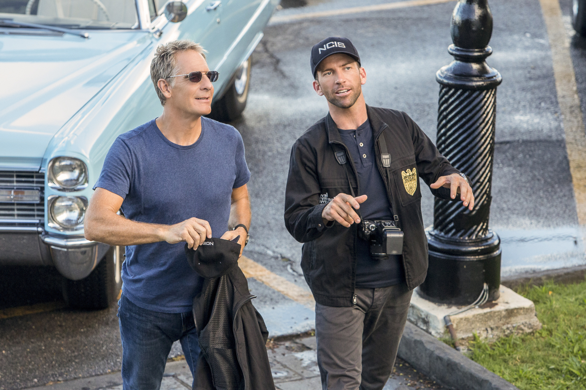 Scott Bakula as Special Agent Dwayne Pride and Lucas Black as Special Agent Christopher Lasalle
