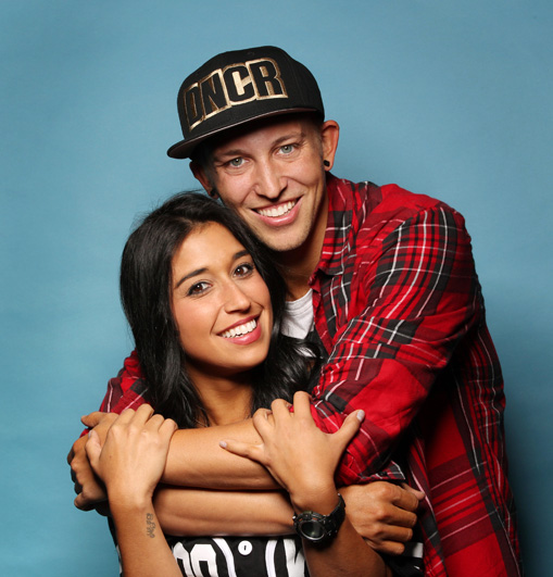 Dana Borriello and Matt Steffanina: Engaged