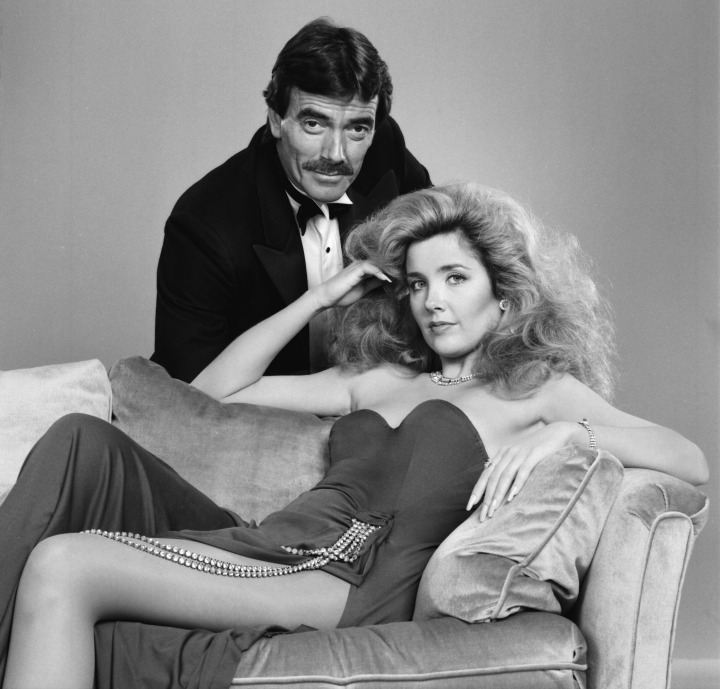 Nikki and Victor Newman