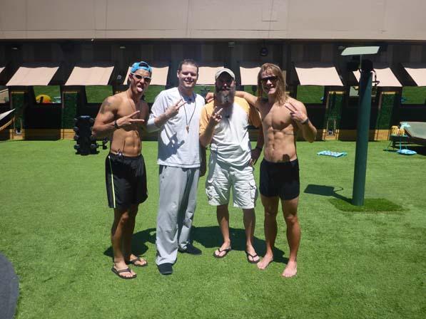 Cody, Derrick, Donny and Hayden
