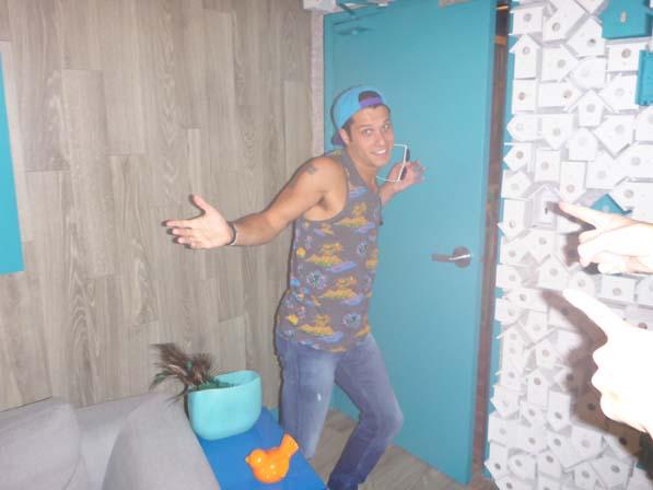 Cody in his HoH Suite