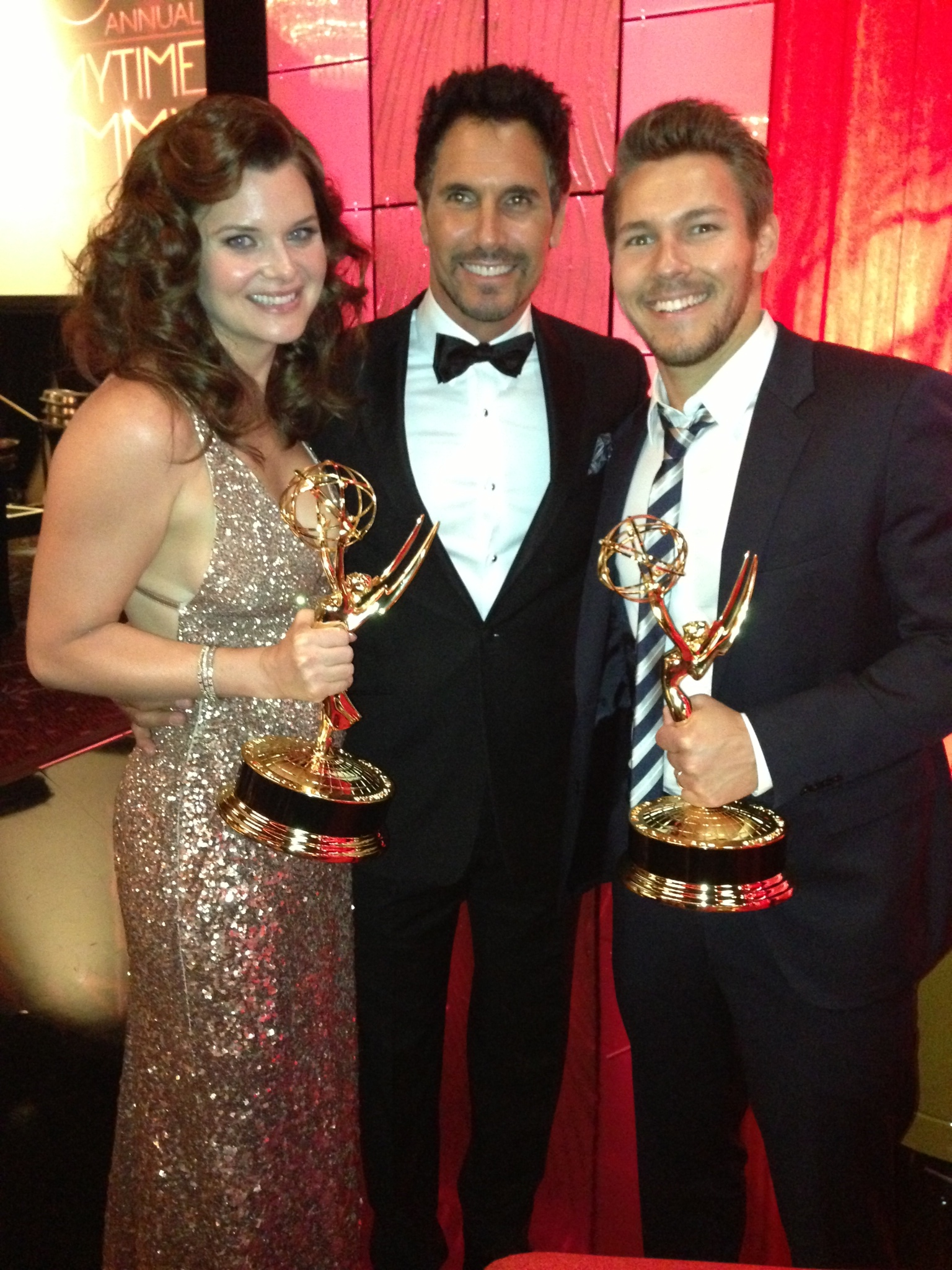 Heather Tom, Don Diamont and Scott Clifton