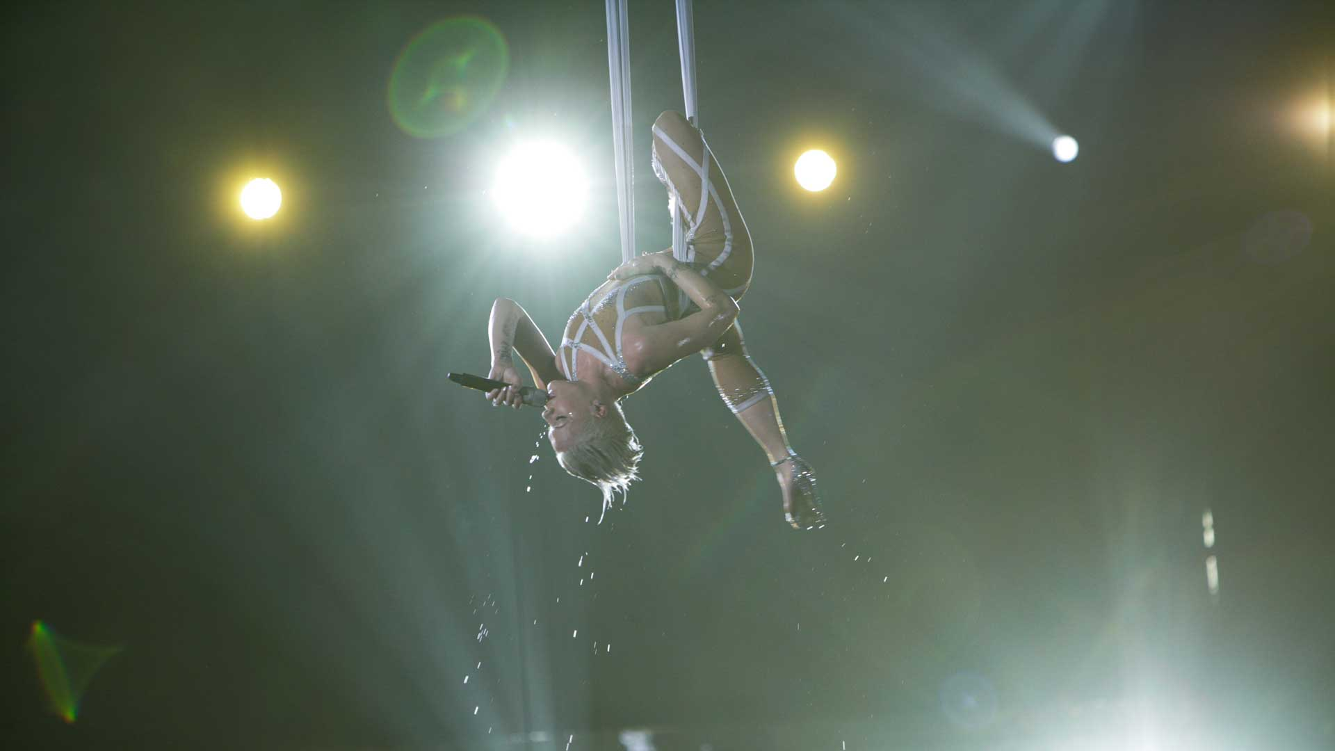 P!nk performs