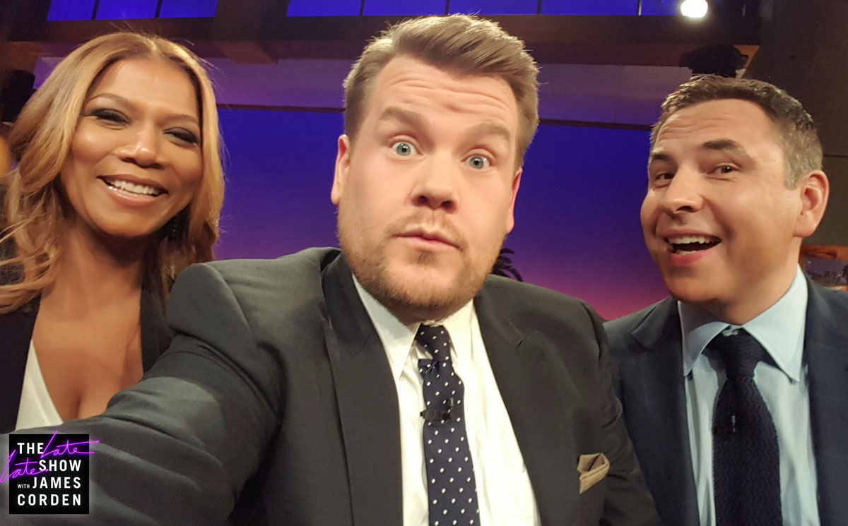 Queen Latifah and David Walliams