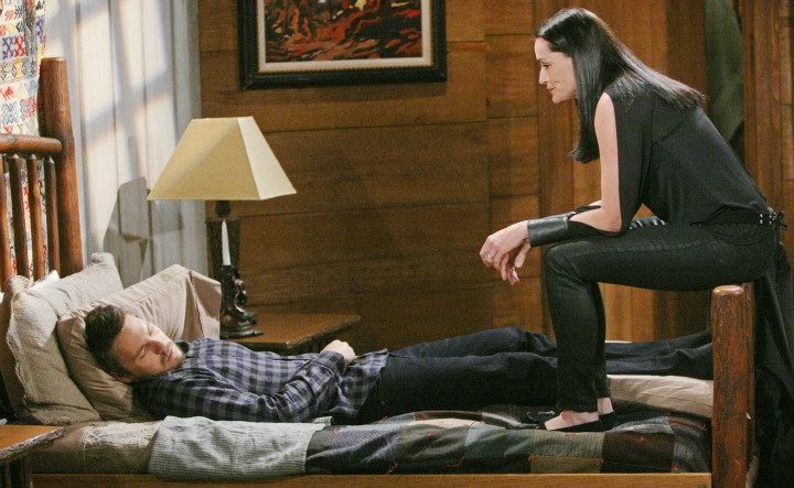 Quinn continues her plot to keep Liam away from Steffy.