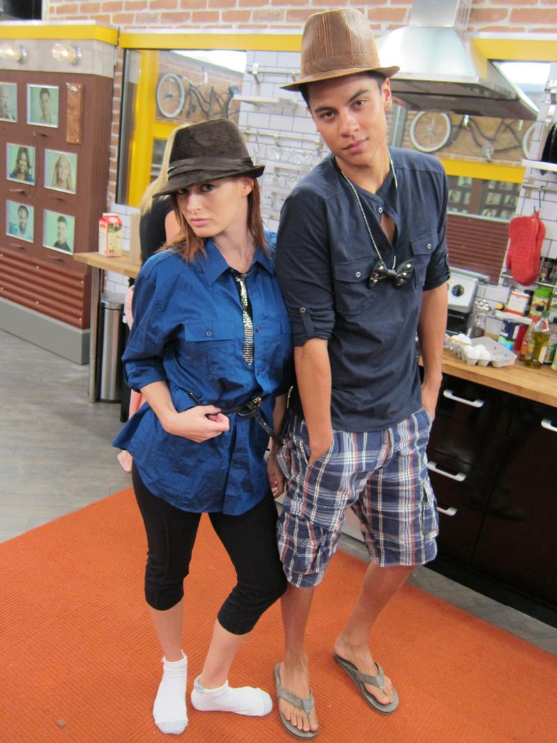Rachel and Dom Look Tough
