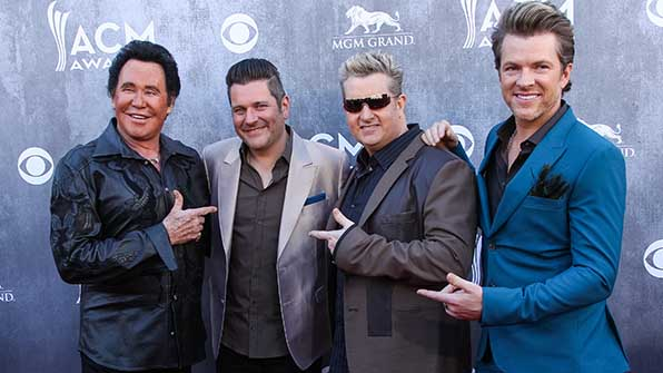 Rascal Flatts holds the record for most Vocal Group of the Year wins with seven total awards.