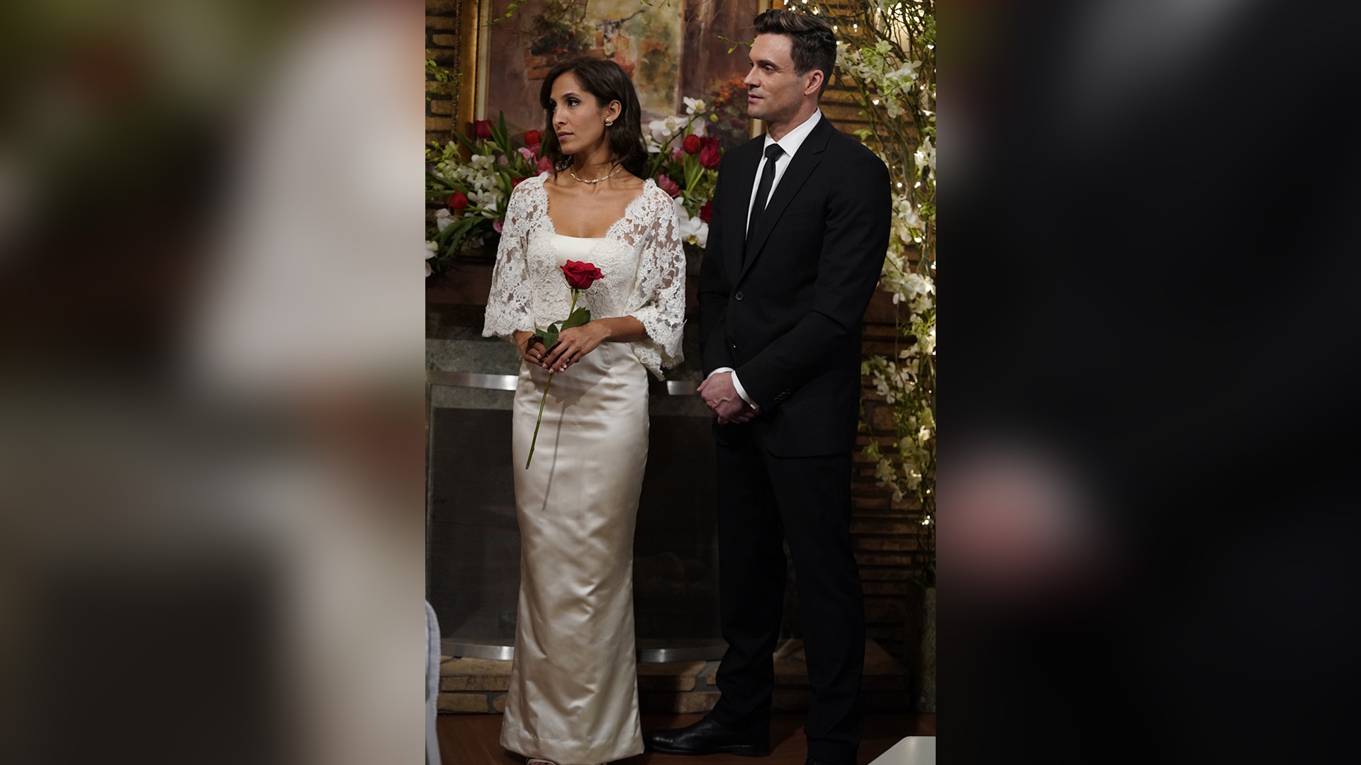 Cane and Lily renew their wedding vows.