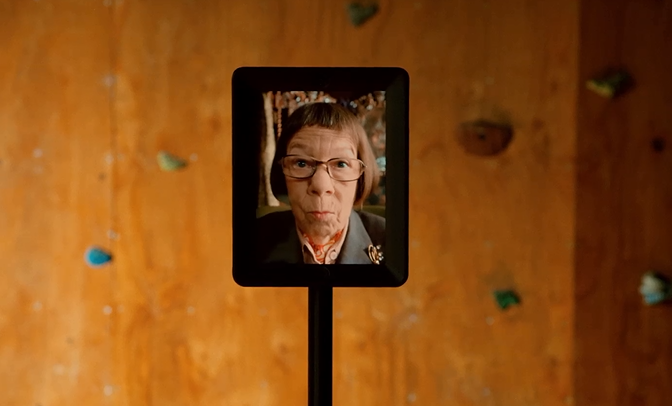 Behind The Hetty Robot
