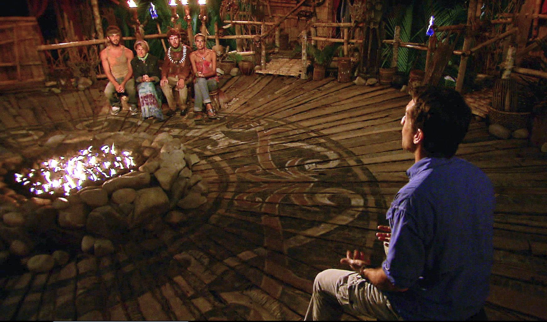 Tribal Council in the Season 26 Finale