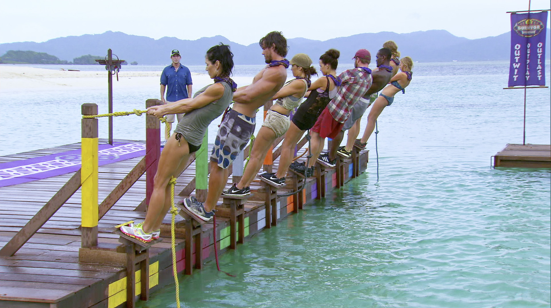 Holding on in Season 27 Episode 10