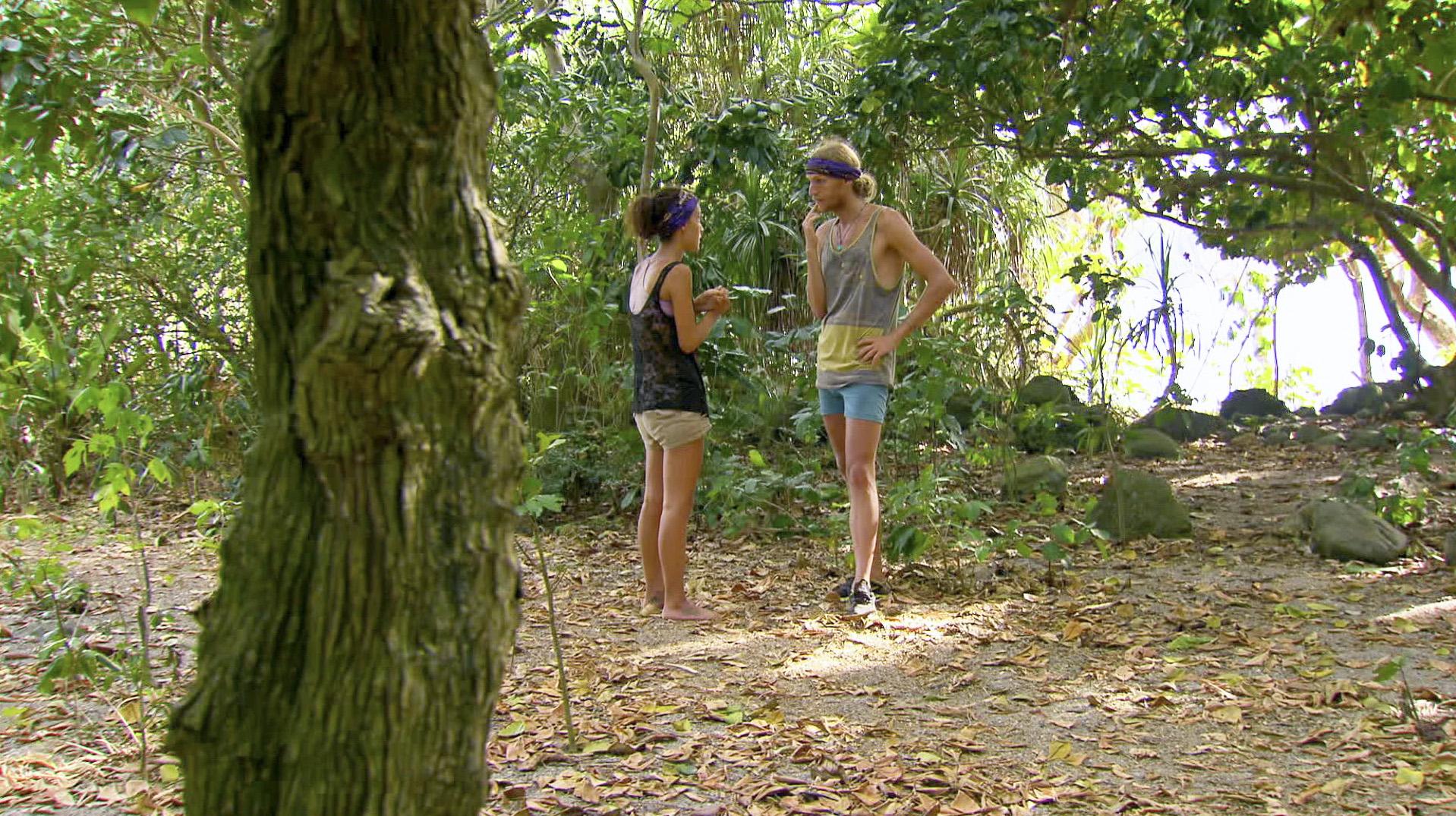 Secret chat in Season 27 Episode 11