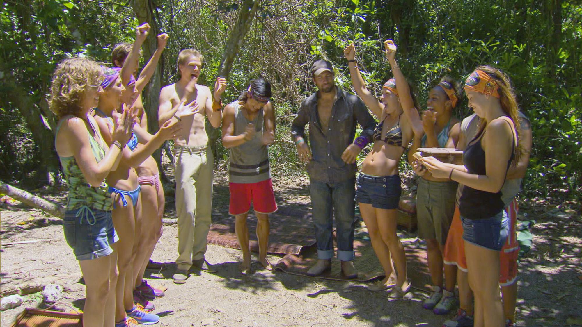 Merged tribe in Season 28 Episode 6