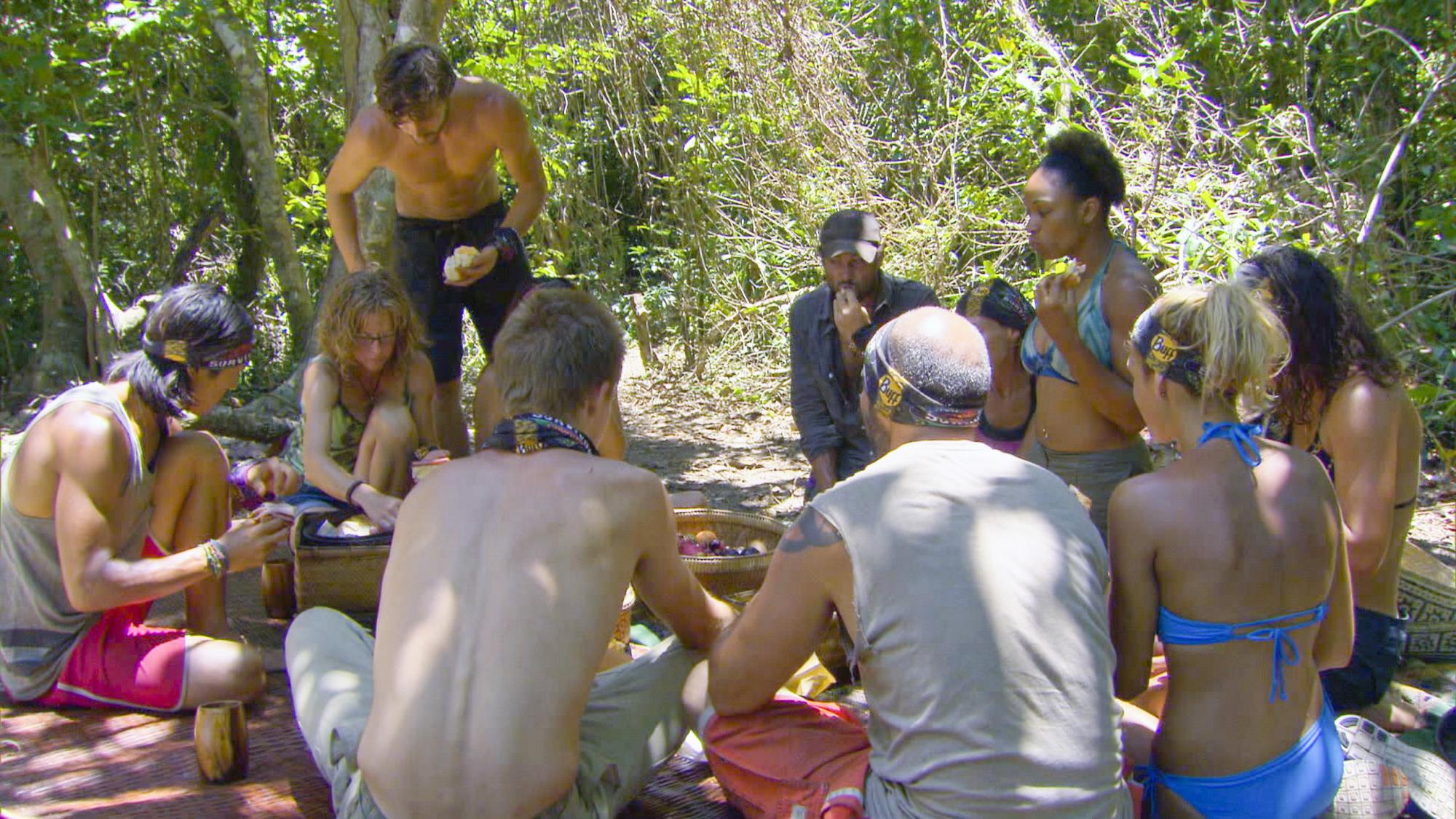 Tribe feast in Season 28 Episode 6