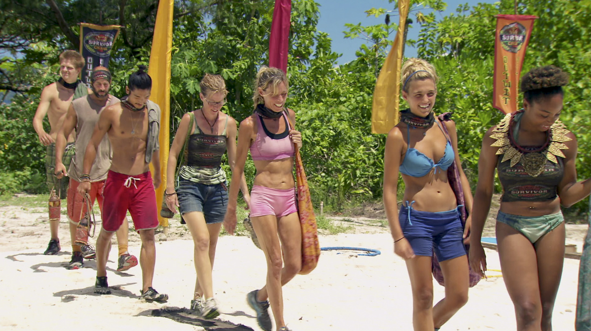 Going to Immunity in Season 28 Episode 10