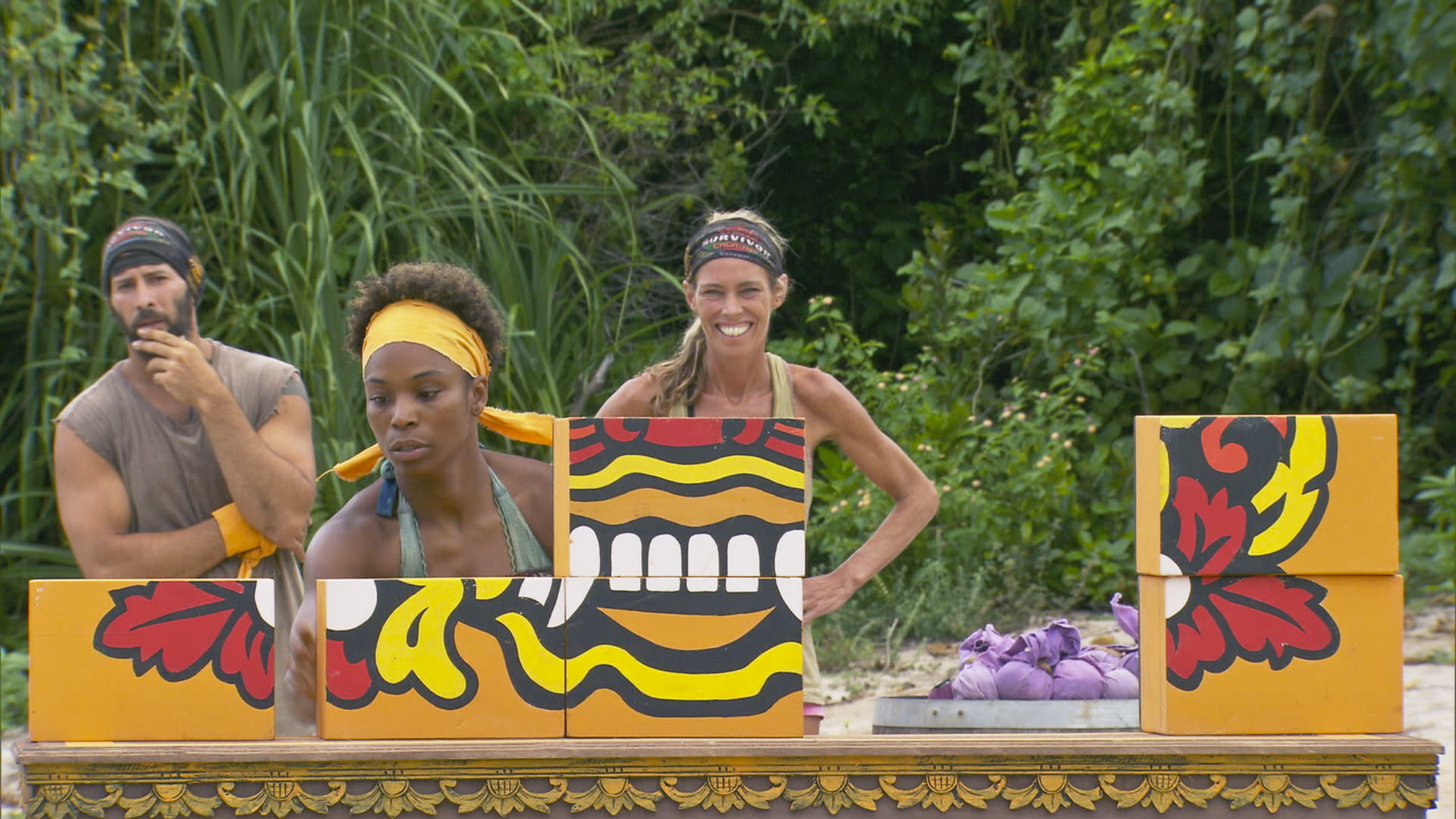 Reward challenge competition in Season 28 Episode 11