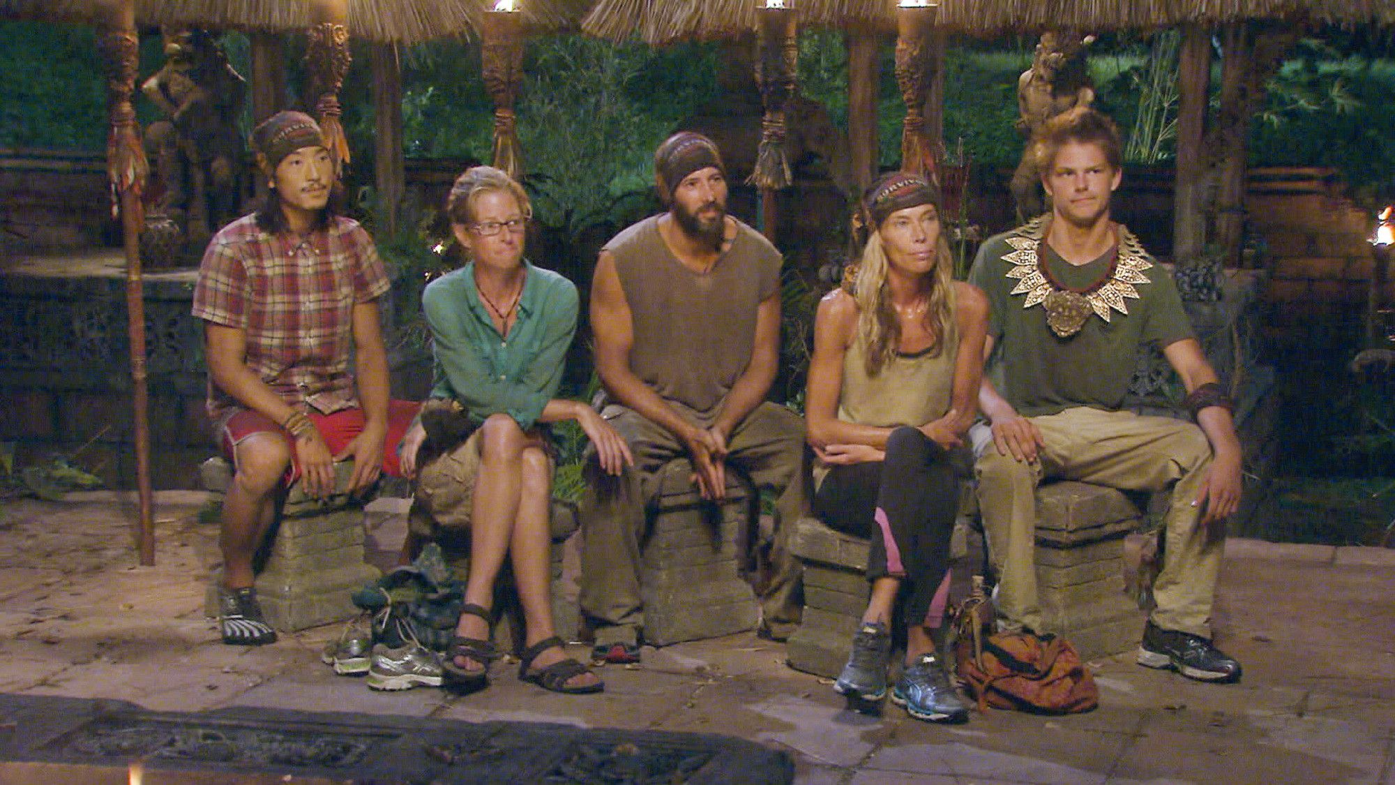 Tribal Council in Season 28 Episode 12