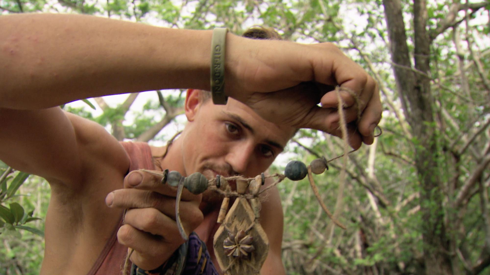 Joe puts his jewelry-making skills to work