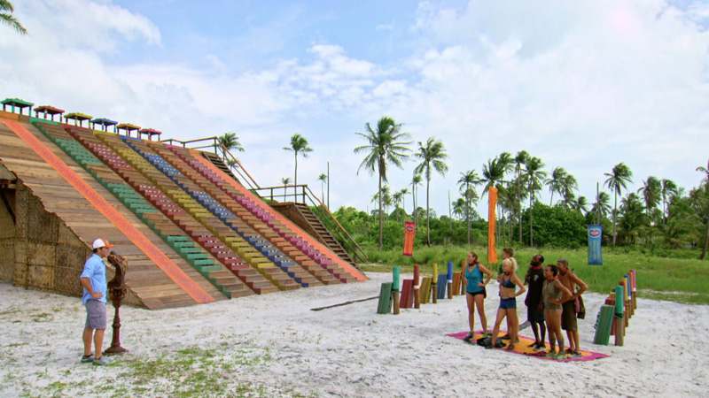 The final six get ready to compete for Immunity.