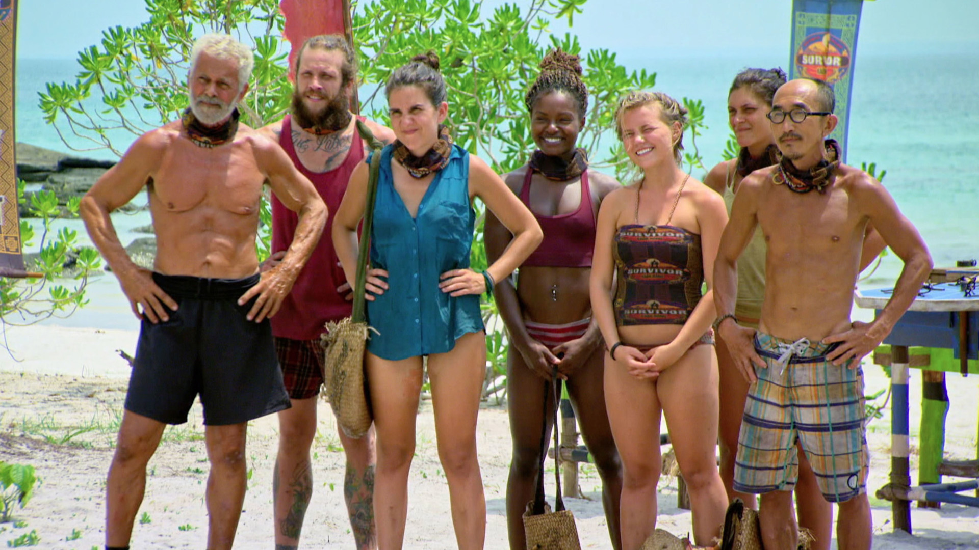 The Survivor: Kaoh Rong castaways are ready to fight for a spot in the Final 6.