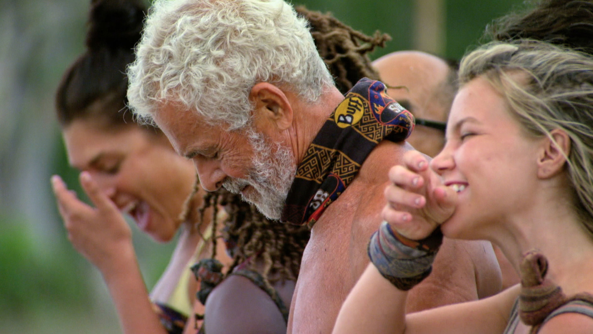 It's a tough game, but that doesn't keep the castaways from enjoying their experience.